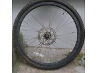 2 x bike wheels, 2 x tyres, FREE! (NOW PROMISED BUT CHECK TOMORROW EVENING IN CASE OF NO SHOW)