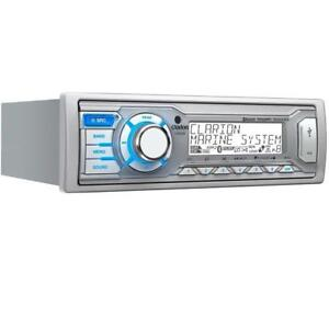 Clarion Marine Audio Systems - M505 Marine Audio head unit Digital Media Receiver with Bluetooth
