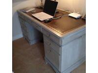 Shabby chic desk (Ducal) grey