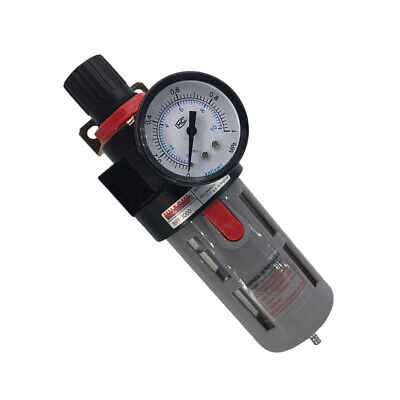 Air Compressor Moisture Water Trap Filters Regulator Separator With Mount