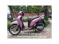 2015 HONDA SH125 MODE MINT SCOOTER NO MILES PRE REG 2015 MUST BE SEEN £1999 FINANCE AVAILABLE