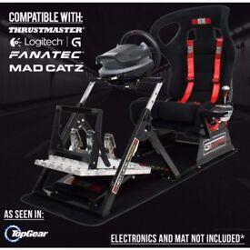 GTULTIMATE V2 Racing Simulator Cockpit Gaming Chair Logitech G27/