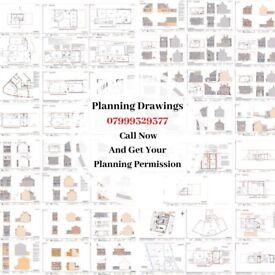 DRAWINGS FOR PLANNING, Architectural Services, Planning permissions, Rear extension, Loft co. Online