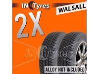 2x 185/55R15 Kingpin Tyres 185 55 15 Fitting Available x2 Tyres