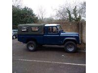 Landrover 110 Hi cap pick up, 1999.