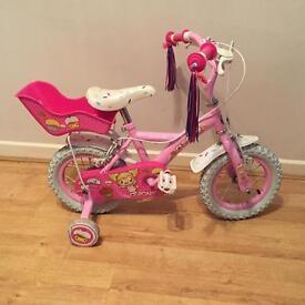 Girls bike 3-5 year old