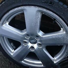 Audi sline genuine 18 inch alloys