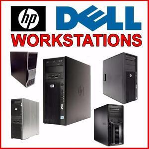 Liquidation De Workstation Dell HP T110 T3400 T5400 Z600 Z420 T310