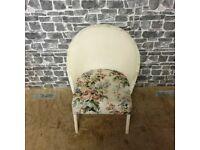 White Lloyd Loom Chair