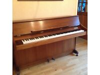 Upright piano and stool, Llandaff, Cardiff