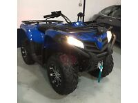 New ROAD LEGAL QUAD BIKE - QUADZILLA 450S - Blue - 12 Months Warranty