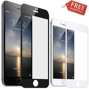 iPhone 7 / 7 Plus Tempered Glass Screen Protector Premium Full Screen Edge to Edge Apple
