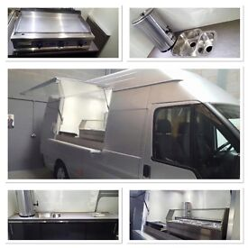 Catering van conversions. FROM £200 pm. Full supply and fit or we can convert your own vehicle.