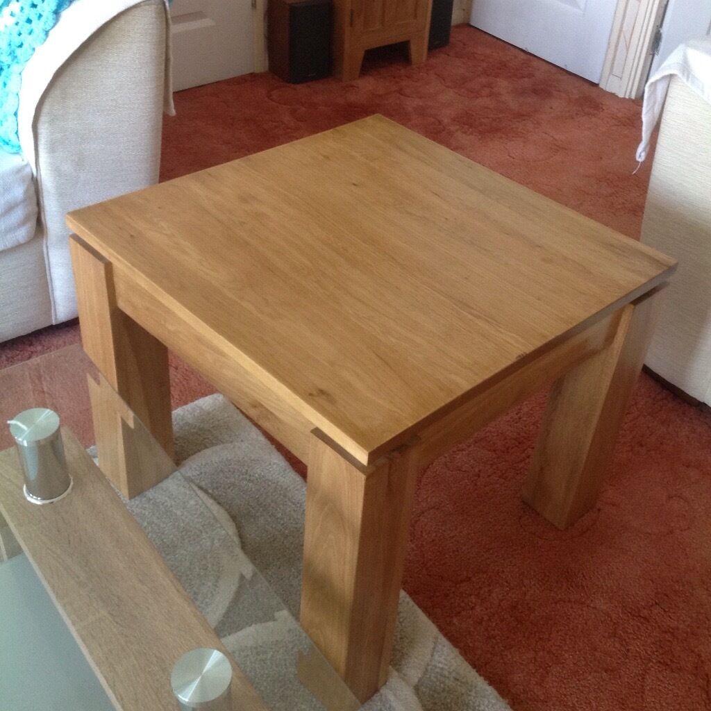 Oak lamp table, 50x50x60cm Oak furniture land usedin Swindon, WiltshireGumtree - Oak lamp table used 50cm x 50cm X 60cm From Oak furniture land. There is a mark on one corner in good condition