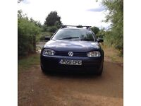 VW Golf Tdi diesel 1.9 5 door estate cdtaperadio mot August 17