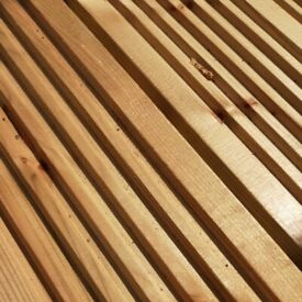 Deluxe Decking Boards 4.8m (32mm x 125mm) only £19