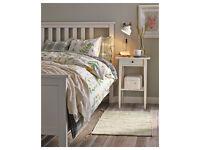 Ikea Hemnes white super king 180x200 bed frame