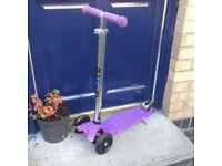 Purple maxi micro scooter - £45
