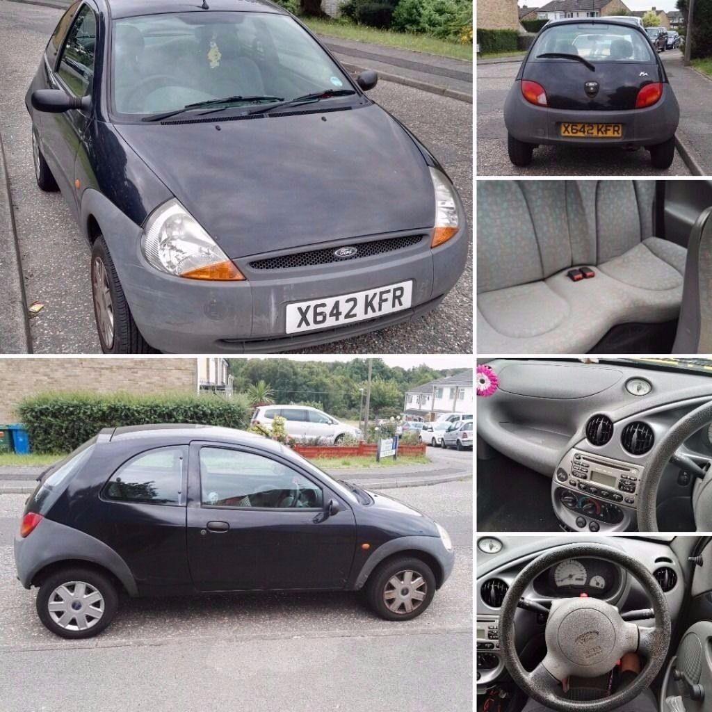 Ford Ka  Spares Or Repair No Mot Good Runner Starts First Time