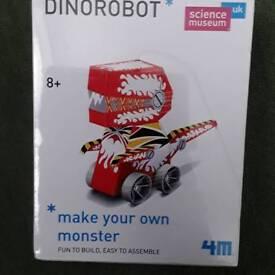 Dinorobot model making kit Brand new still sealed