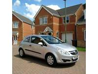 VAUXHALL CORSA 1 LITRE, MILEAGE 50000, FULL SERVICE HISTORY, MOT 12 MONTHS