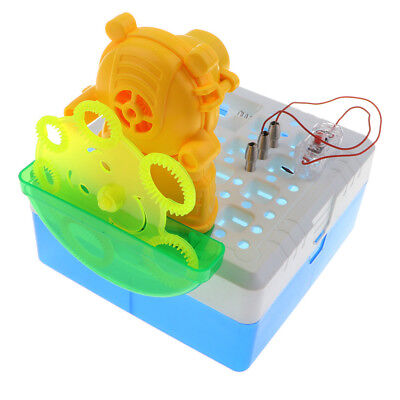 Diy Bubble Machine (DIY Electric Bubble Machine Physical Science Kit Kids Early Educational)