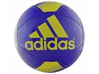 BRAND NEW Original Adidas Size 5 Glider Football - Purple and Gold.