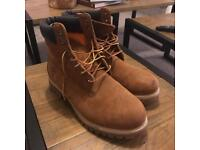 Men's Classic Timerland High-Top Boots size 10