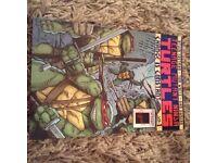 SIGNED COPY of Teenage Mutant Ninja Turtles Graphic Novel VOL 1