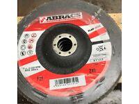 20 7 inch brand new abracs flap / polishing discs