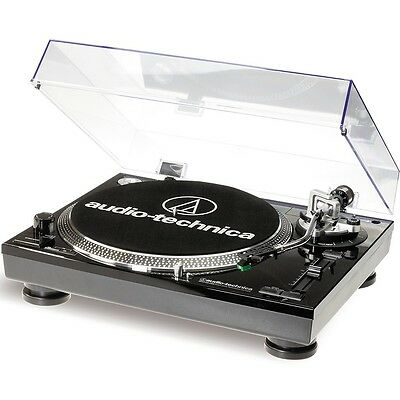 Audio Technica AT-LP 120 USB Plattenspieler Schwarz ()