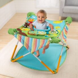 Summer Infant Pop N Jump baby bouncer activity centre - excellent condition