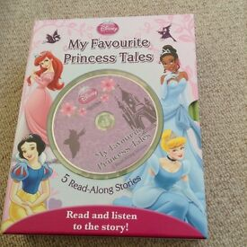 My favourite princess books and CD read along stories