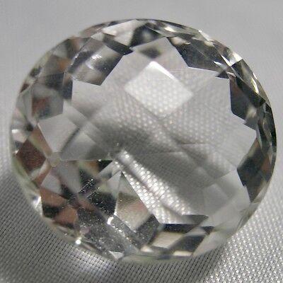 Echter Weisser Runder Bergkristall 33.94ct 18.9mm