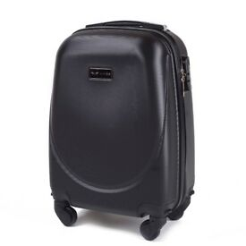 Small Suitcase 41l Hand Luggage Hard Case ABS Spinning Wheels