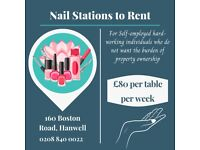 Nail Stations to Rent