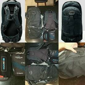 Osprey Farpoint 7 Backpack + Accessories