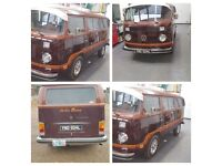 Limited champaigne eddition bay campervan fully referb LHD originally from USA