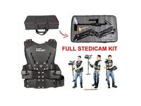 Brand New: Steadicam Kit - Arm And Vest With Camera Stabiliser