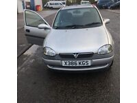 Vauxhall Corsa X reg (low mileage) New MOT