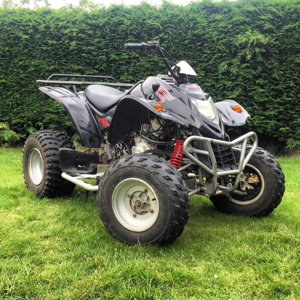Street Bike Quad: Road Legal Quad Bike 250cc Automatic Auto Barossa Apache