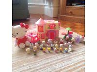 Various hello kitty toys