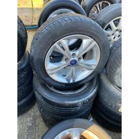 215/55/16 FORD FOCUS ALLOY WHEELS & TYRES