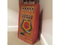 Vintage coin operated , one arm bandit , penny machine WANTED