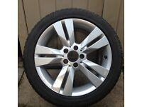 """Mercedes Benz 17"""" Winter Wheels & Tyres"""