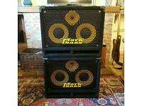 Mint Markbass 102hf bass cab x 2