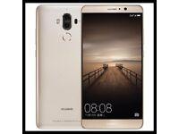 Huawei Mate 9 64GB Dual SIM Gold (Unlocked) Brand New Sealed