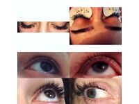 Semi permanent Eyelash Extensions ( Mink )