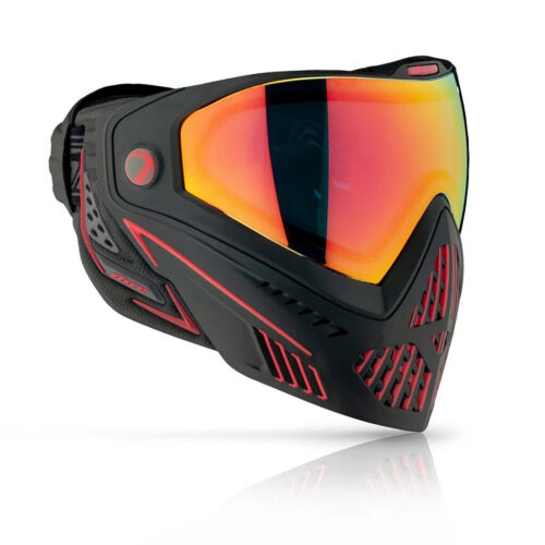 Dye I5 Mask 2.0 - Fire - Black / Red - Paintball