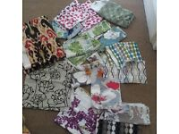 Fabric remnants - fashion& interior fabrics